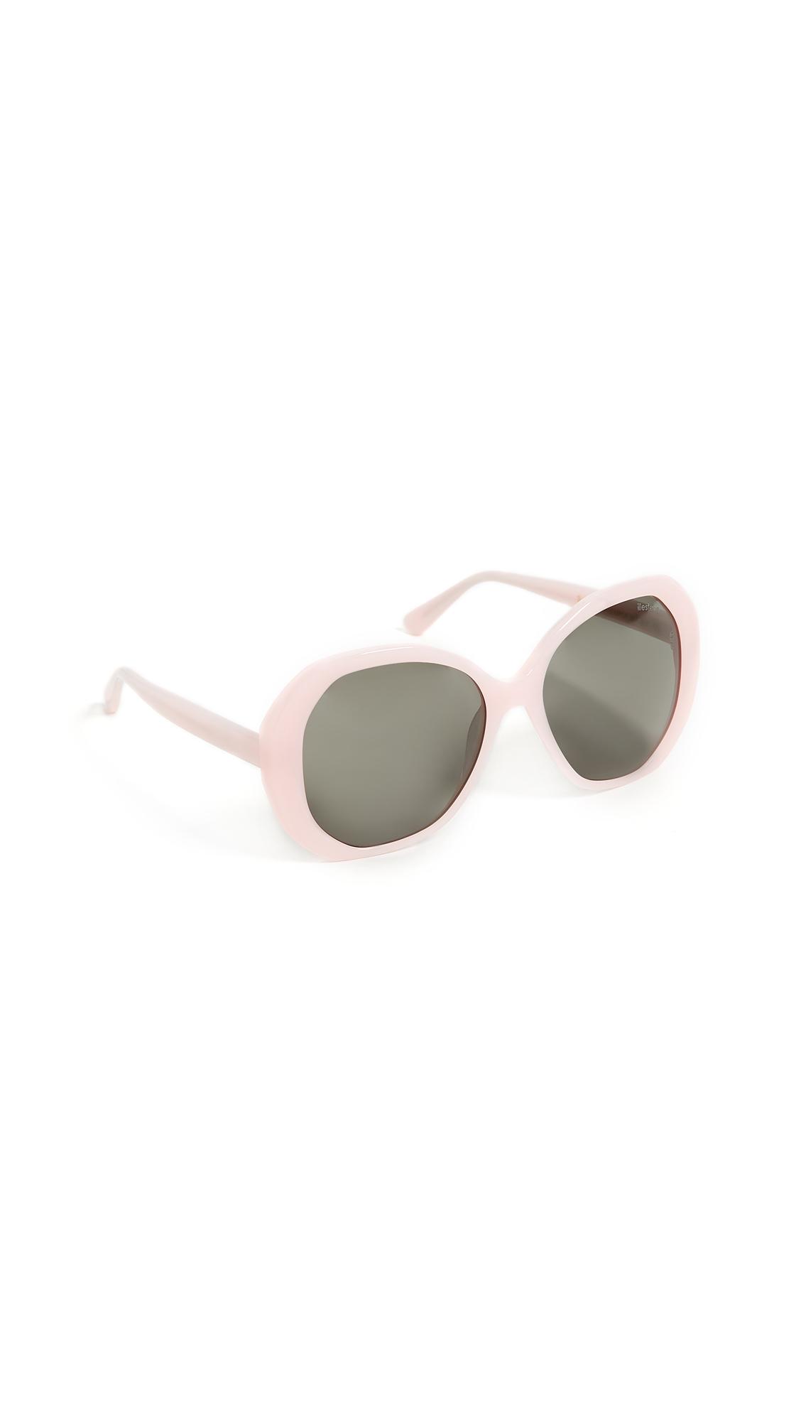 Manuela Sunglasses, Pale Pink