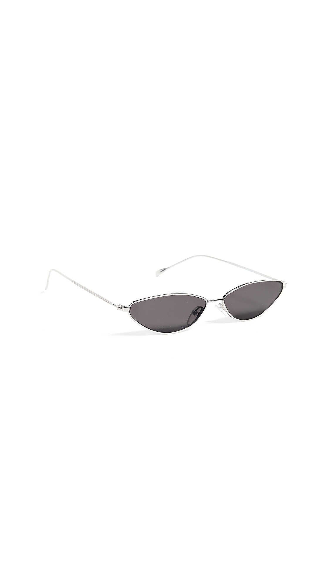 Illesteva Nimbin Sunglasses In Silver/Grey