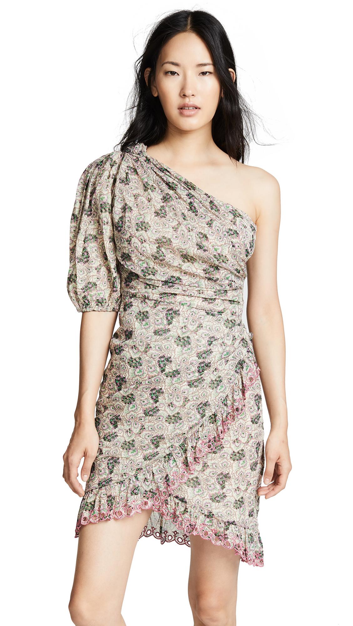 Isabel Marant Etoile Esther Dress In Ecru