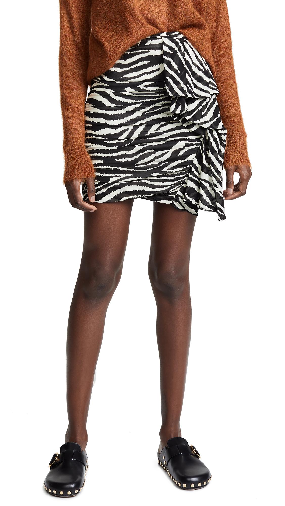 Isabel Marant Etoile Jerine Skirt In Ecru