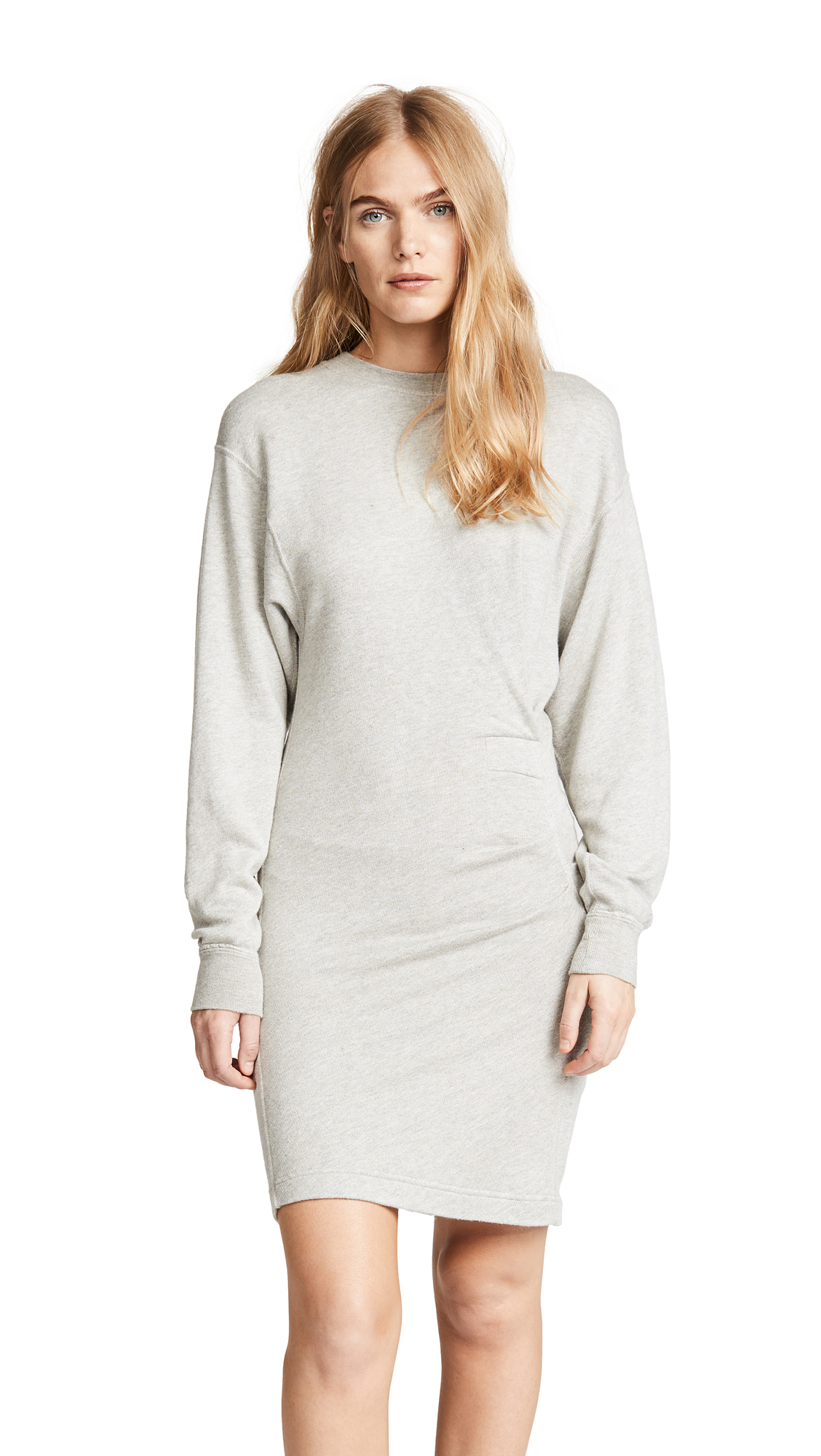 Isabel Marant Etoile Fewlyn Dress In Light Grey