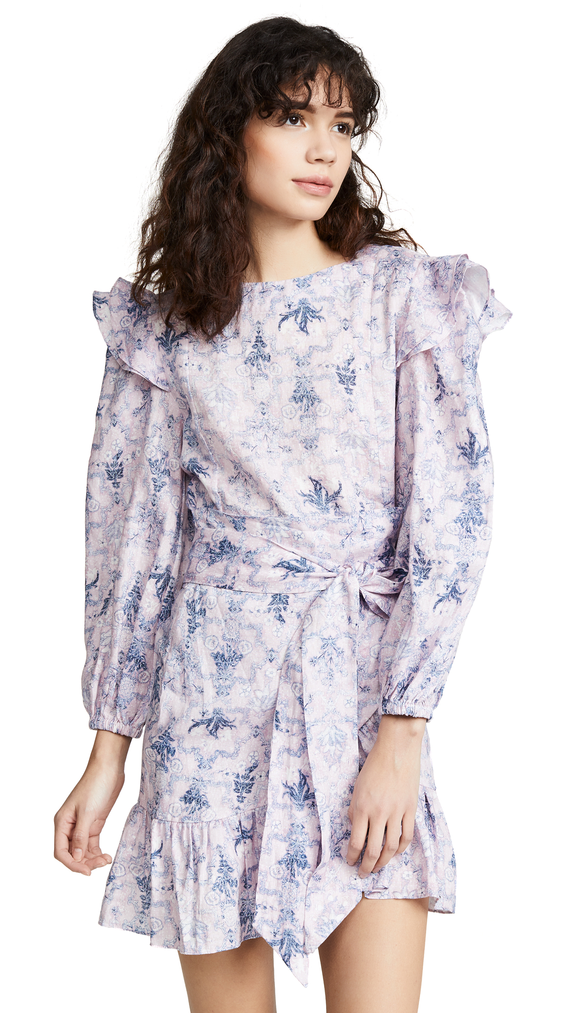Isabel Marant Etoile Telicia Dress - Pink