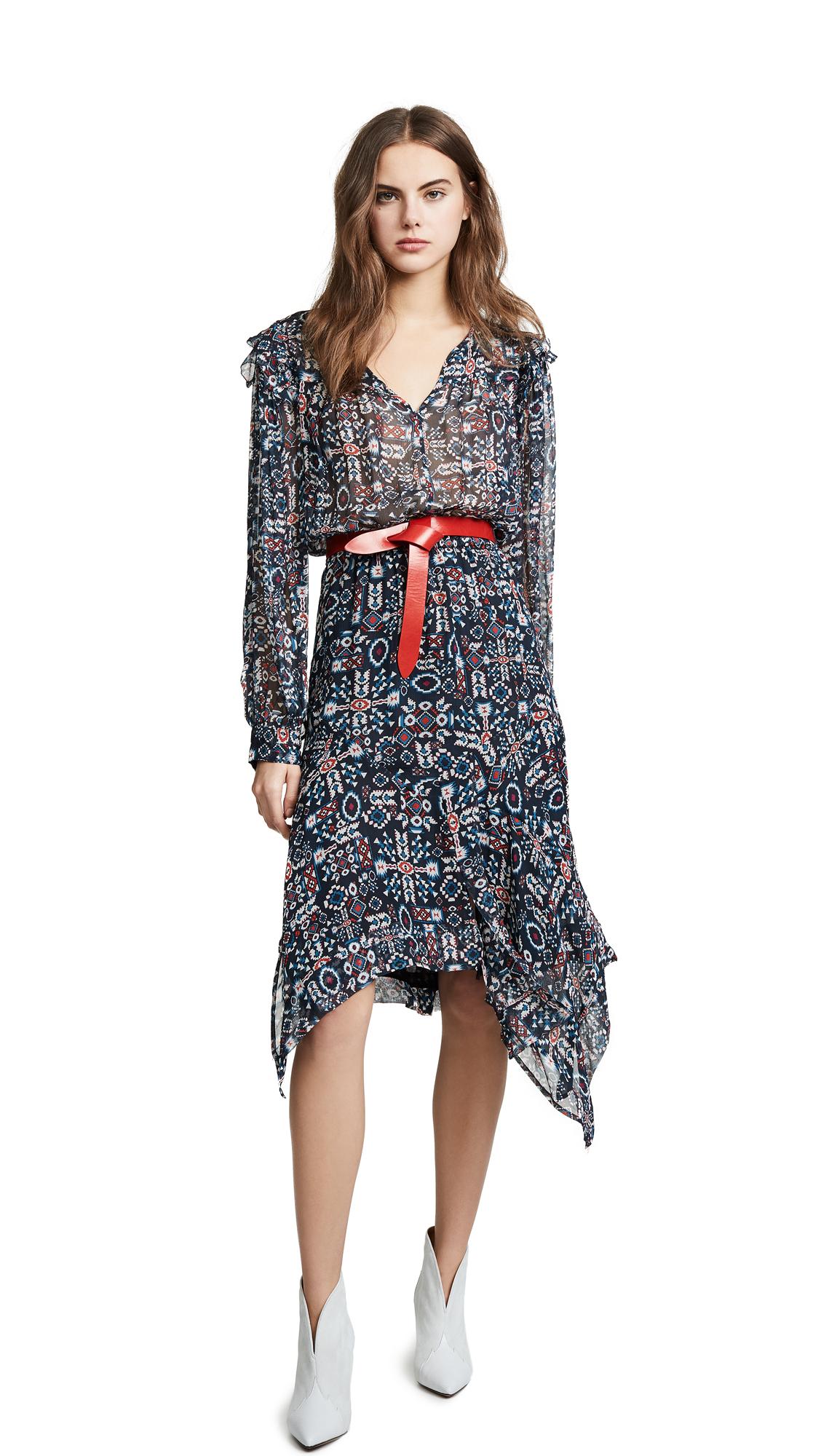 Isabel Marant Etoile Enna Dress - Faded Black