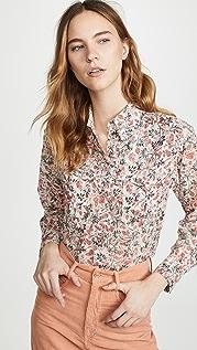 Isabel Marant Etoile Emelina 系扣衬衣