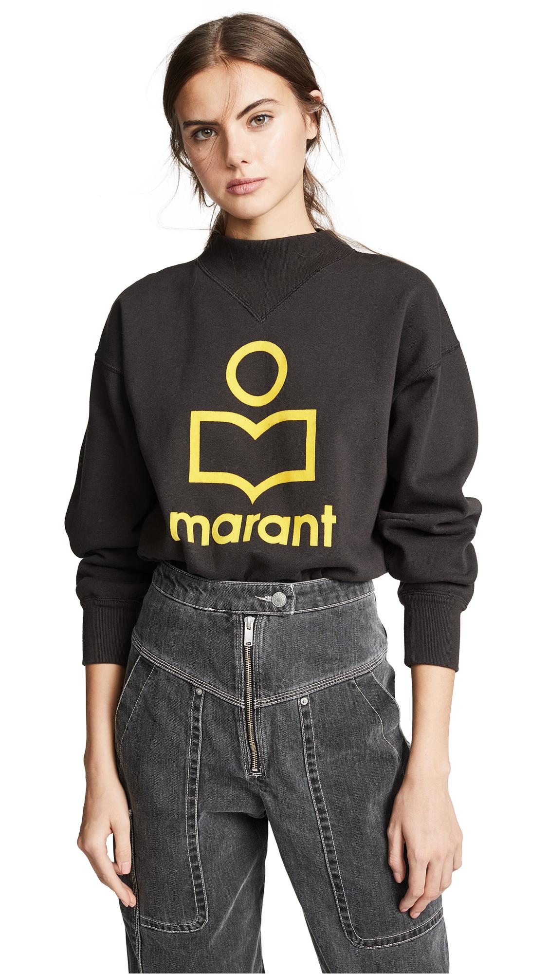 Isabel Marant Etoile Moby Sweatshirt - Faded Black
