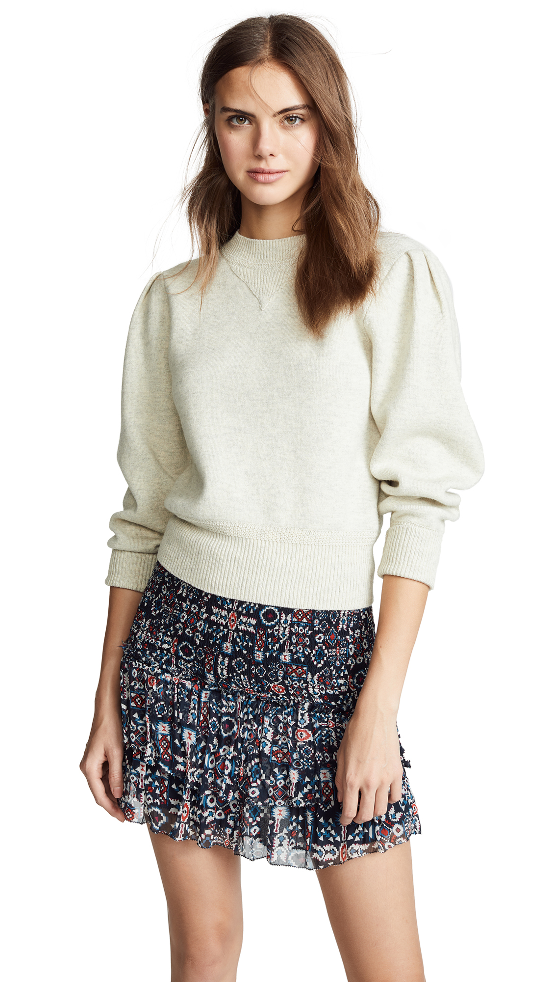 Isabel Marant Etoile Kelaya Sweater - Light Grey