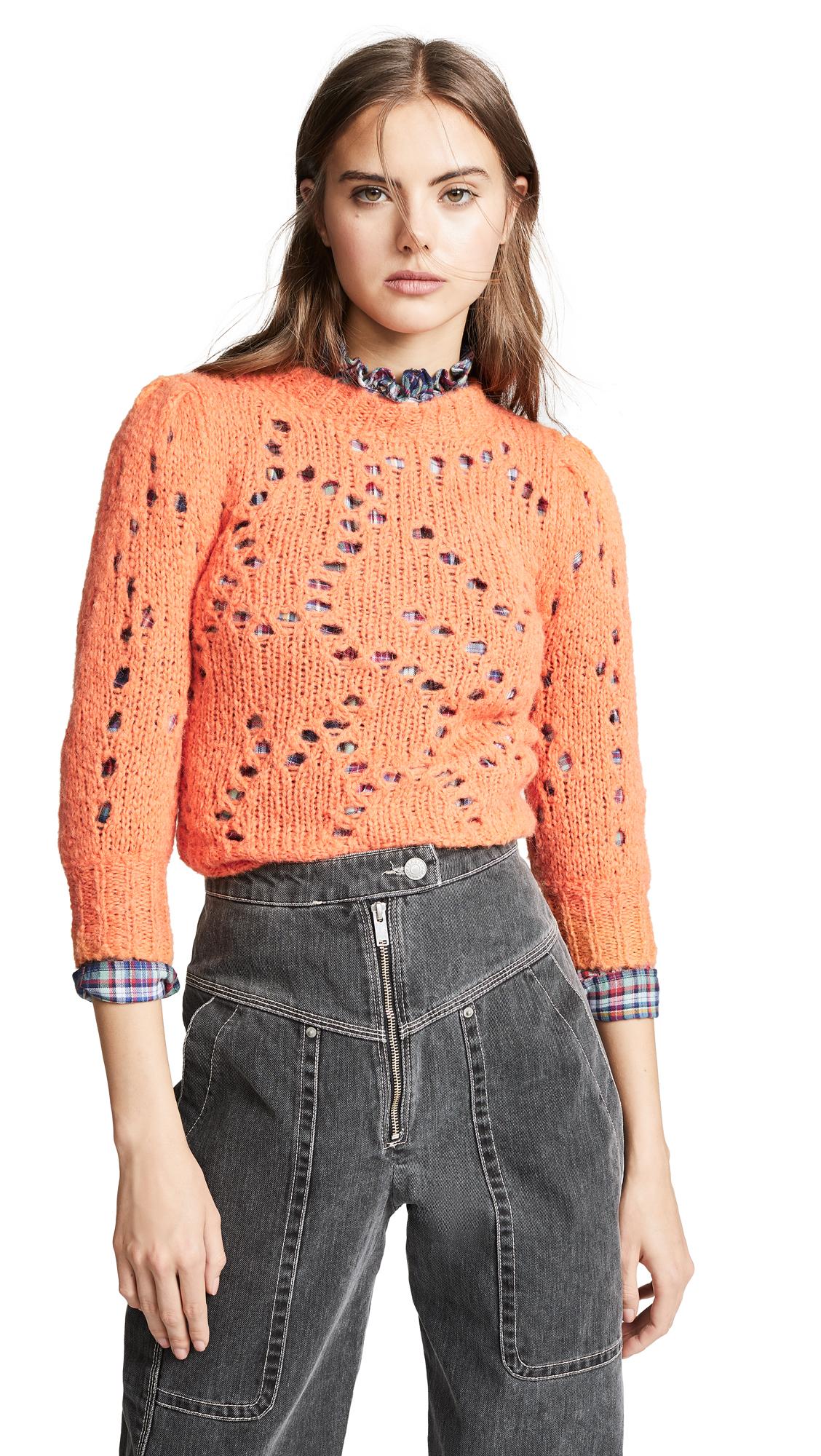 Isabel Marant Etoile Sinead Sweater - Papaya