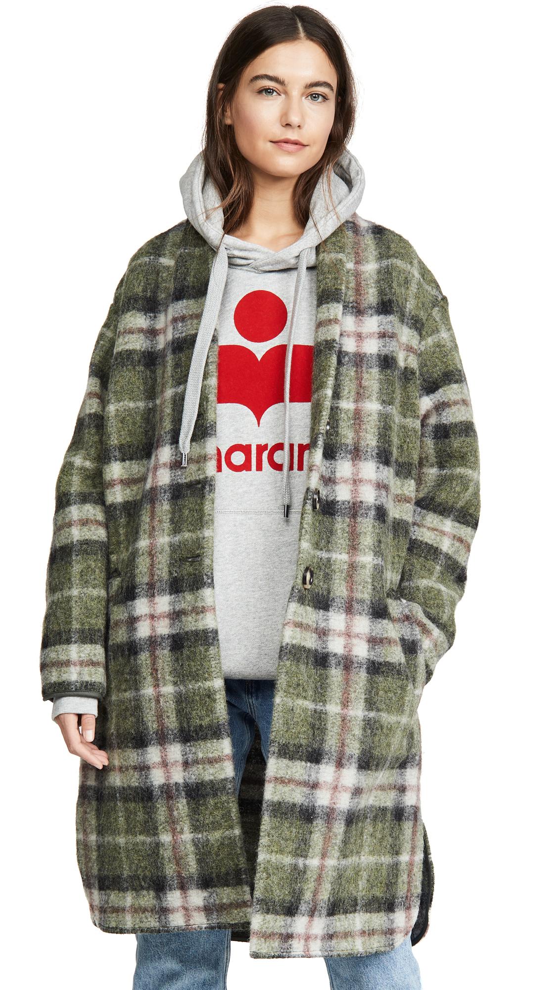 Buy Isabel Marant Etoile online - photo of Isabel Marant Etoile Gabriel Coat