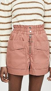 Isabel Marant Etoile Lizy Cargo Shorts