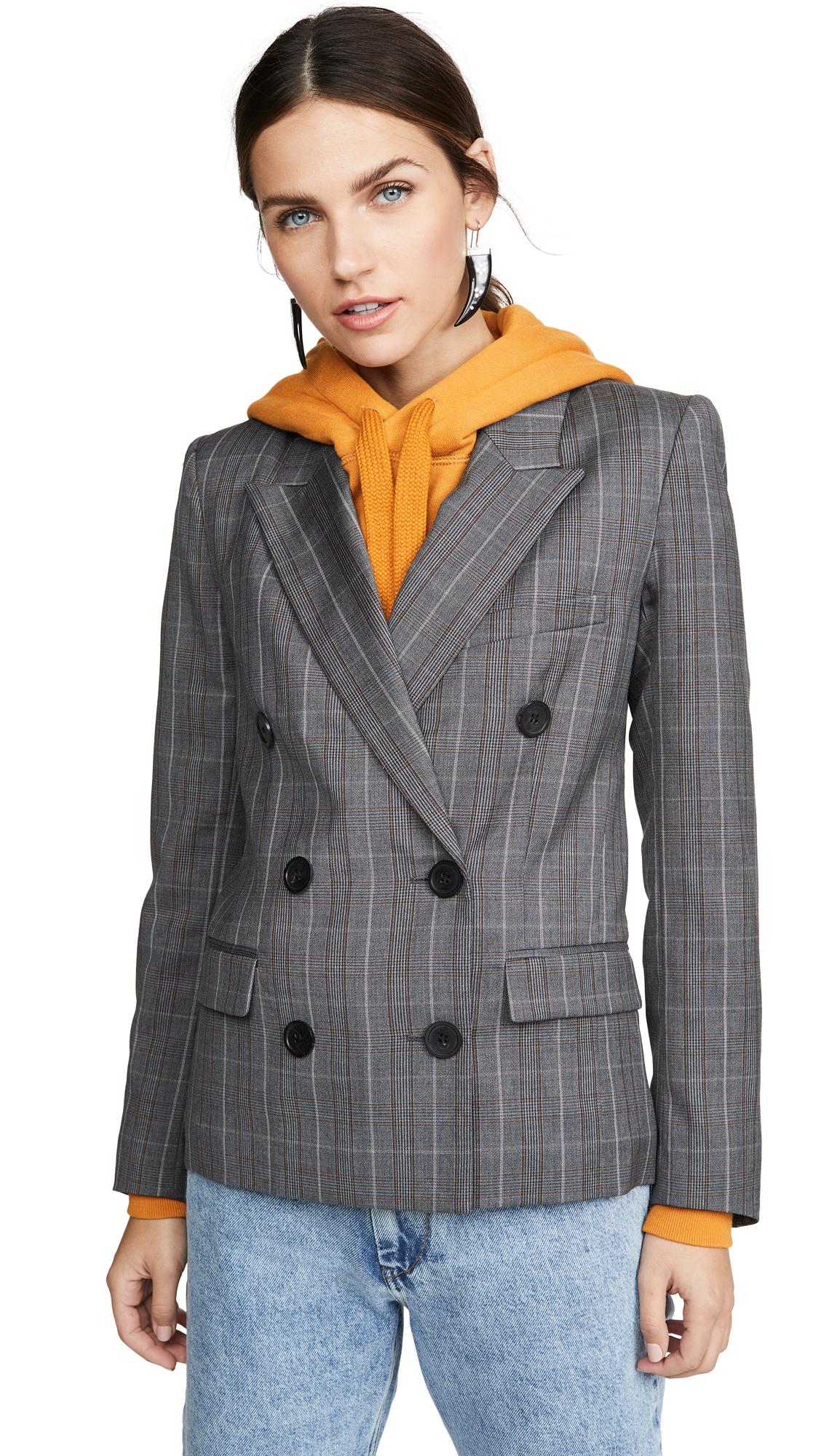 Buy Isabel Marant Etoile online - photo of Isabel Marant Etoile Visby Double Breasted Blazer
