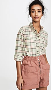 Isabel Marant Etoile Блуза на пуговицах Awendy