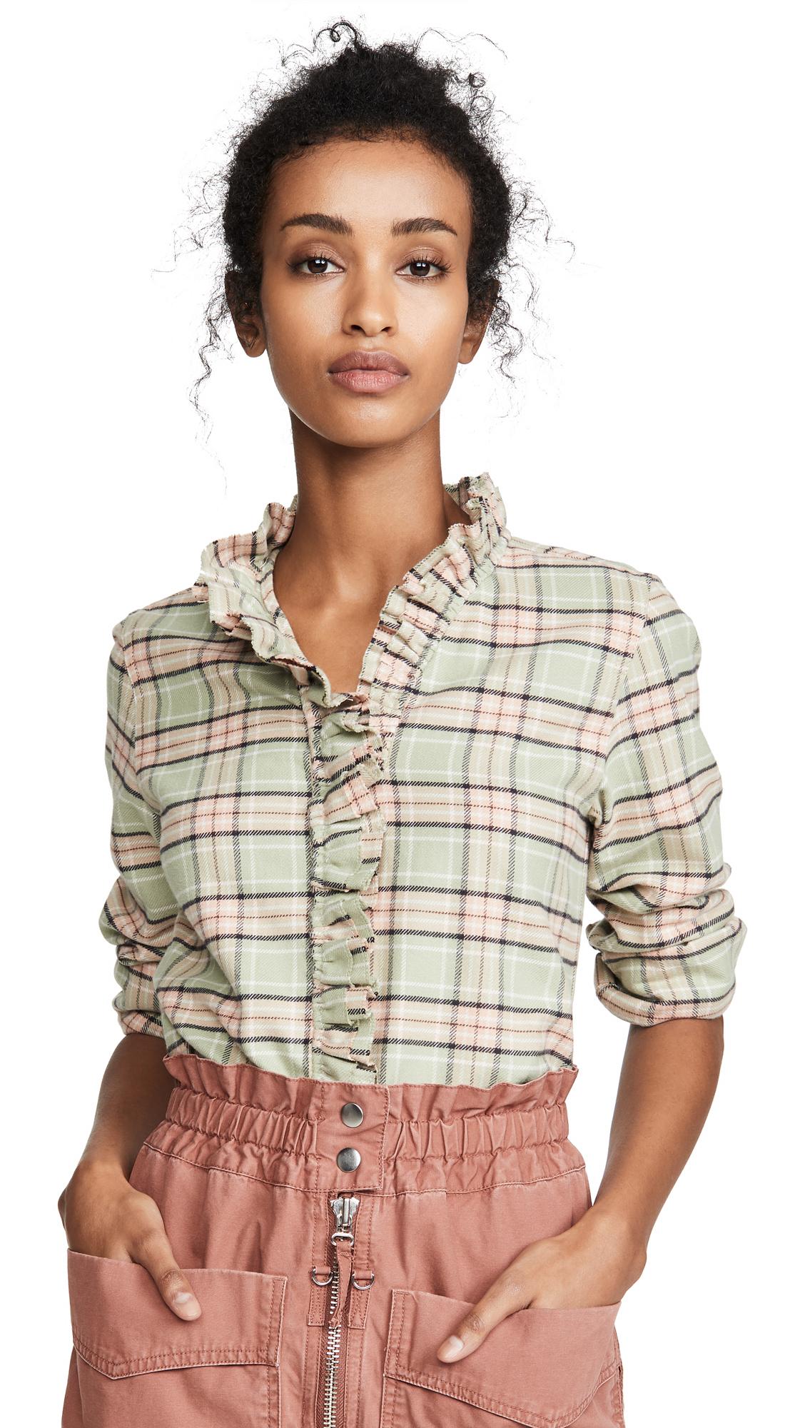 Buy Isabel Marant Etoile online - photo of Isabel Marant Etoile Awendy Button Down