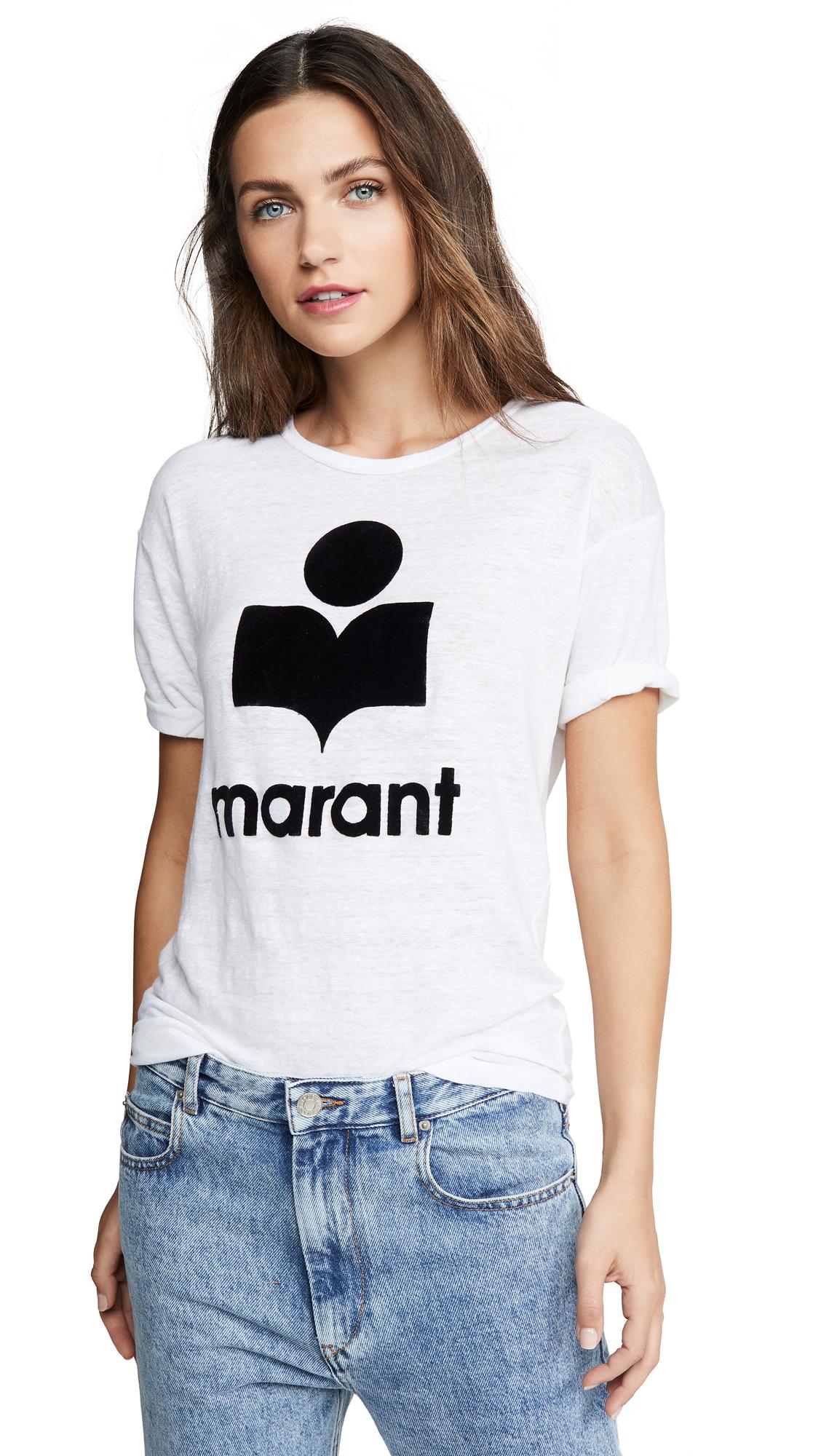 Buy Isabel Marant Etoile online - photo of Isabel Marant Etoile Koldi Tee