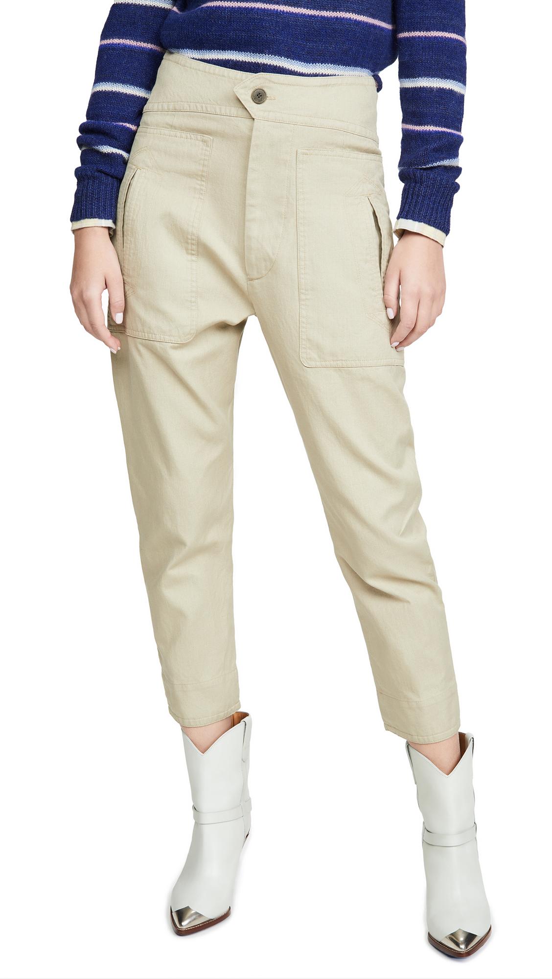 Buy Isabel Marant Etoile online - photo of Isabel Marant Etoile Raluni Trousers