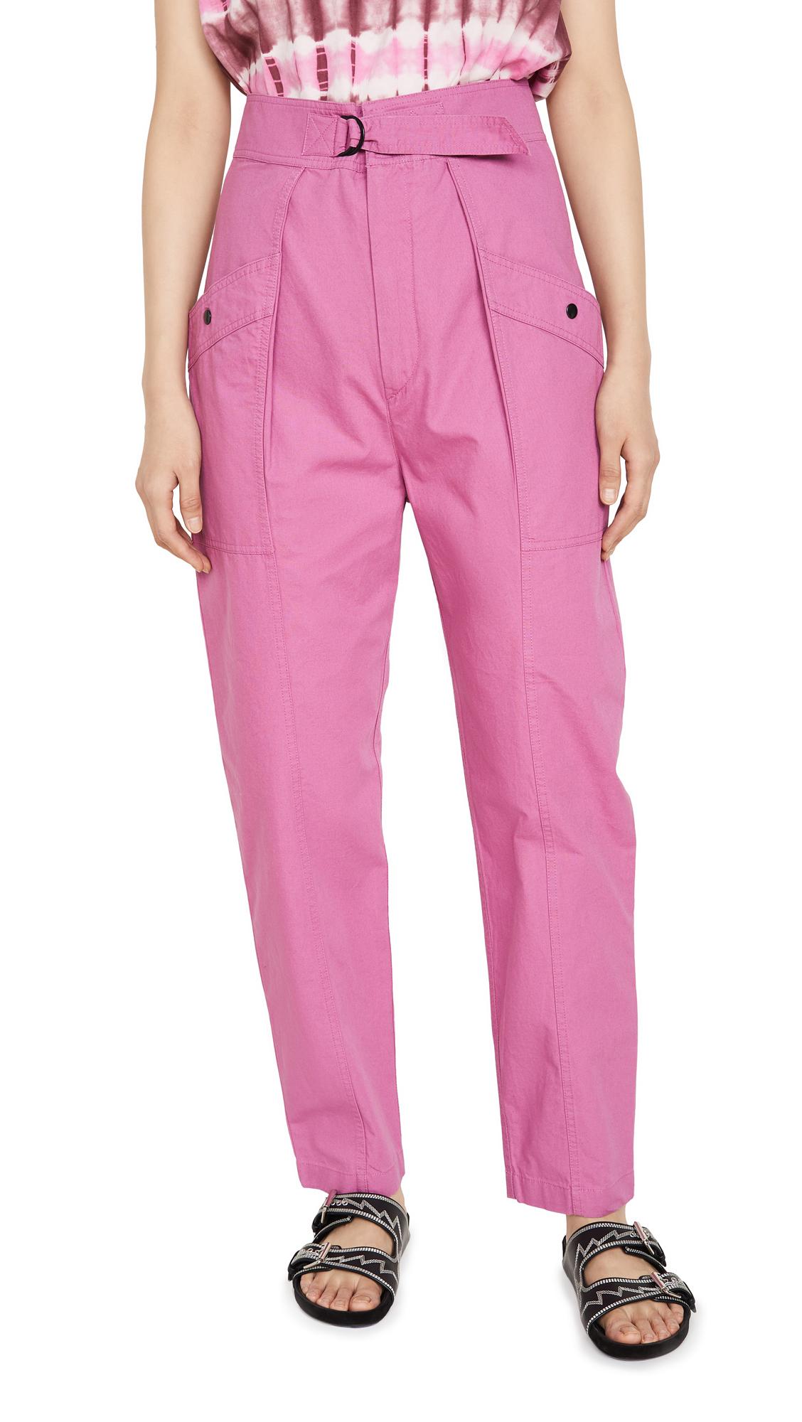 Buy Isabel Marant Etoile online - photo of Isabel Marant Etoile Zilyae Trousers