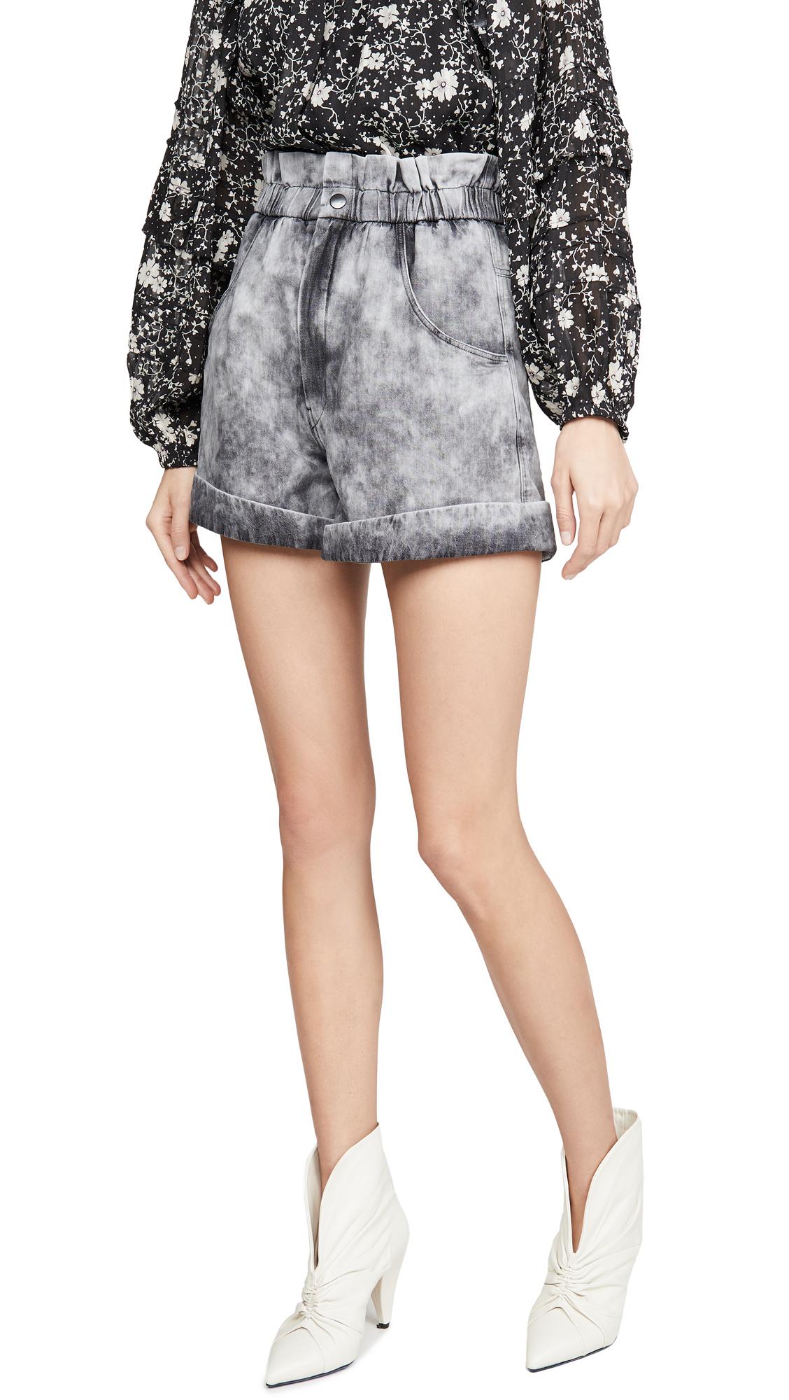 Buy Isabel Marant Etoile online - photo of Isabel Marant Etoile Itea Shorts