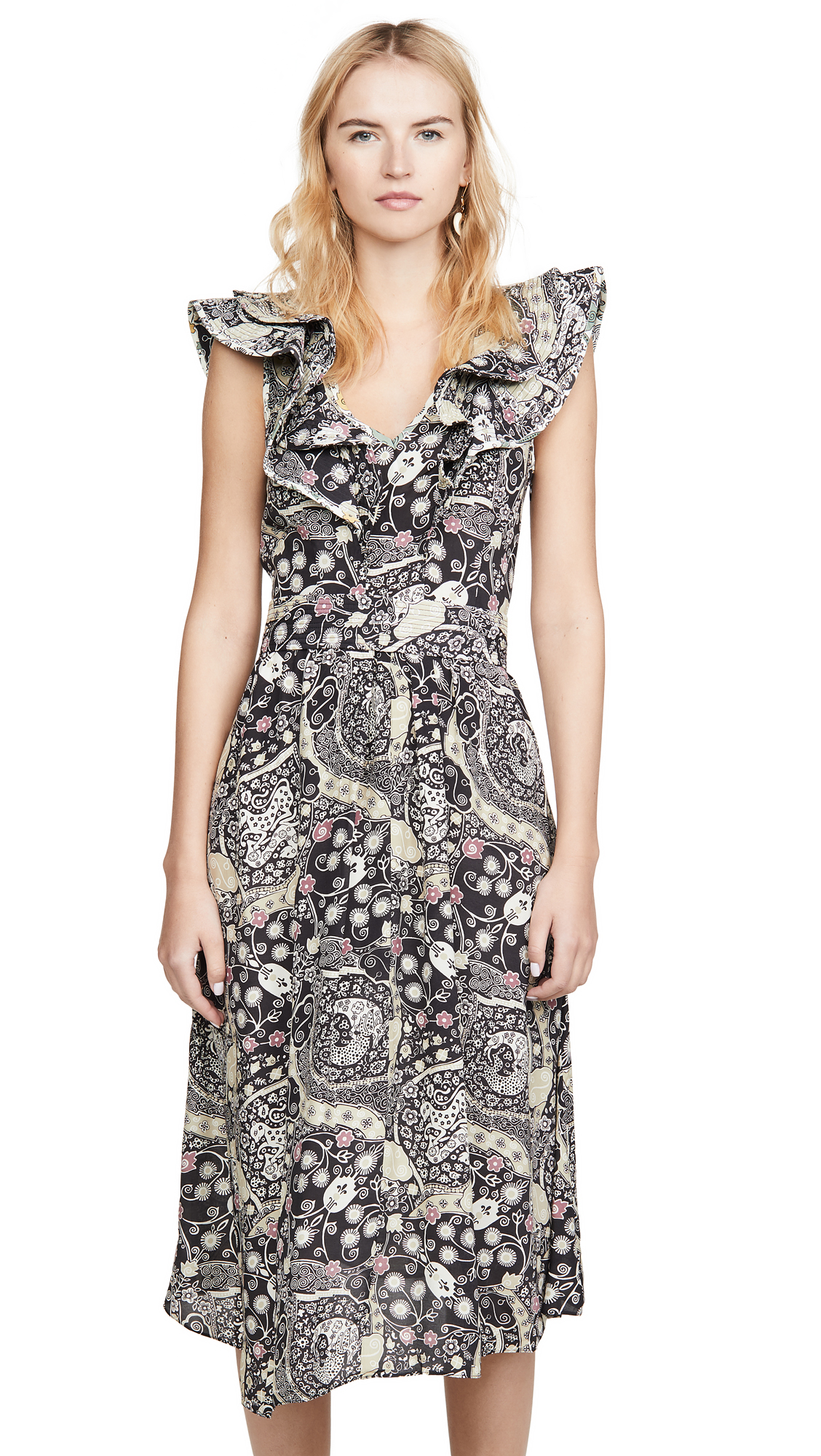 Buy Isabel Marant Etoile online - photo of Isabel Marant Etoile Coraline Dress