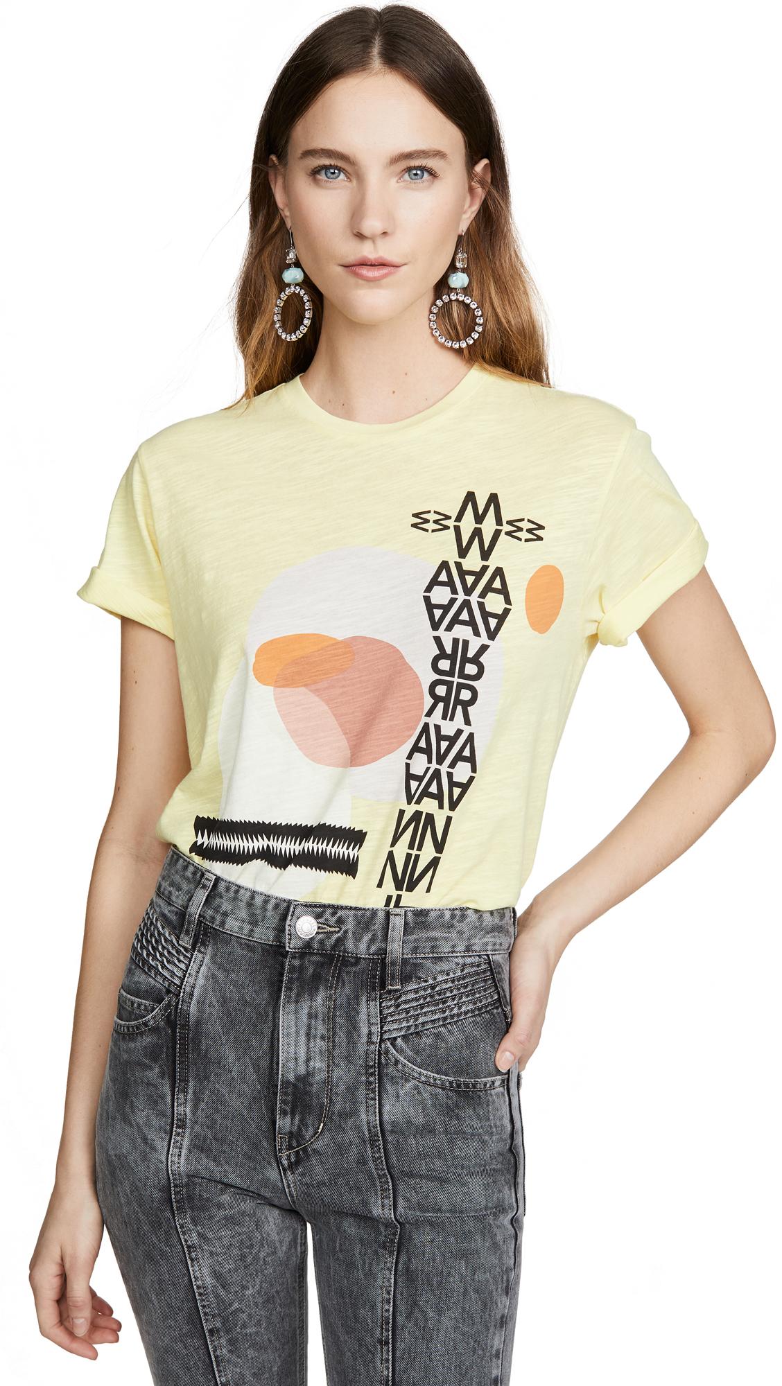 Buy Isabel Marant Etoile online - photo of Isabel Marant Etoile Pewela Tee