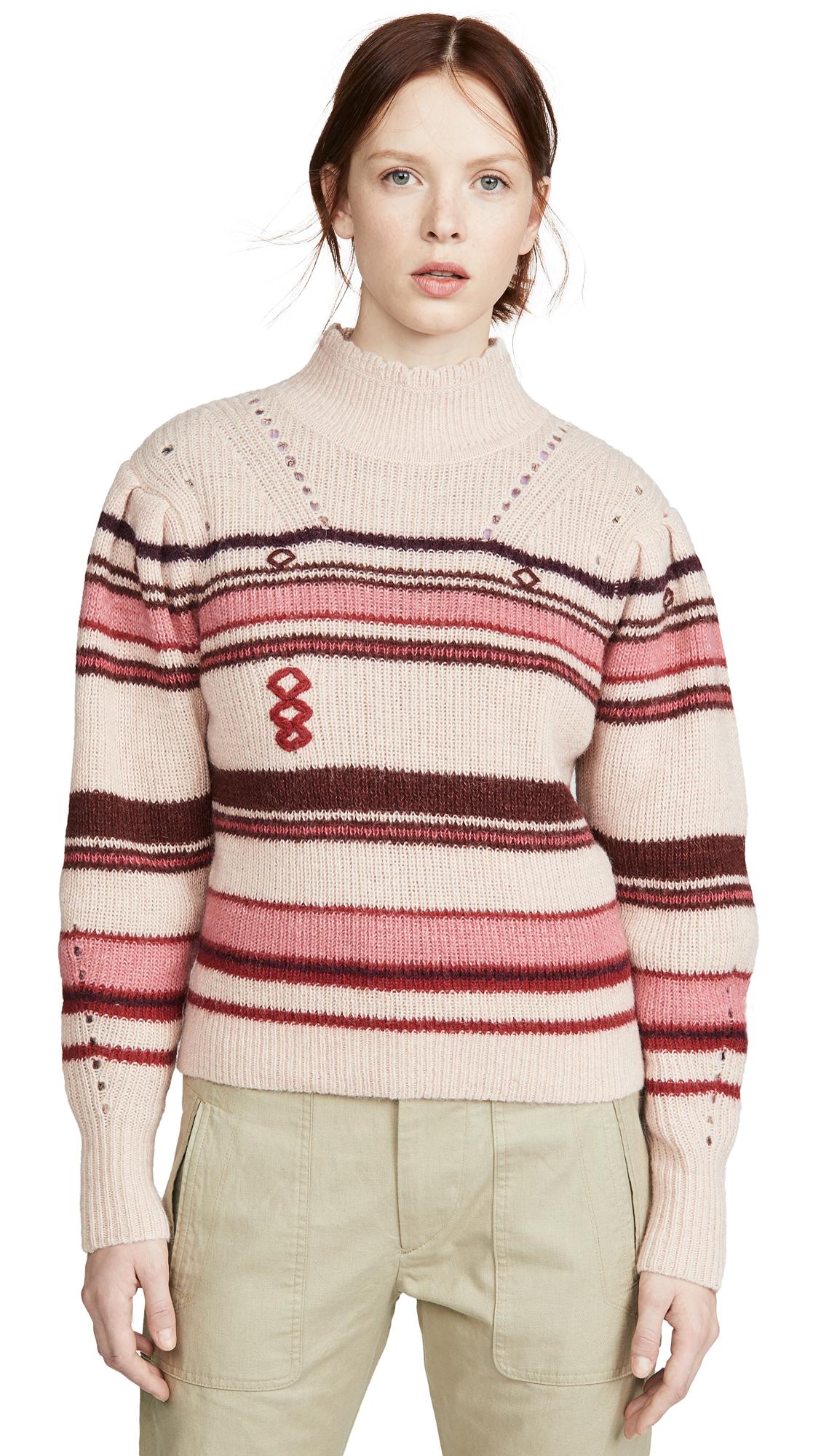 Buy Isabel Marant Etoile online - photo of Isabel Marant Etoile Georgie Alpaca Sweater
