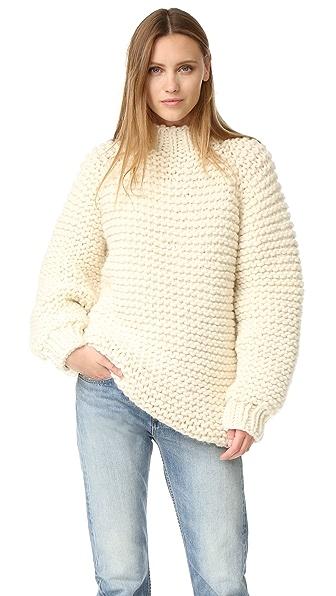 I Love Mr Mittens Wool Boxy Sweater