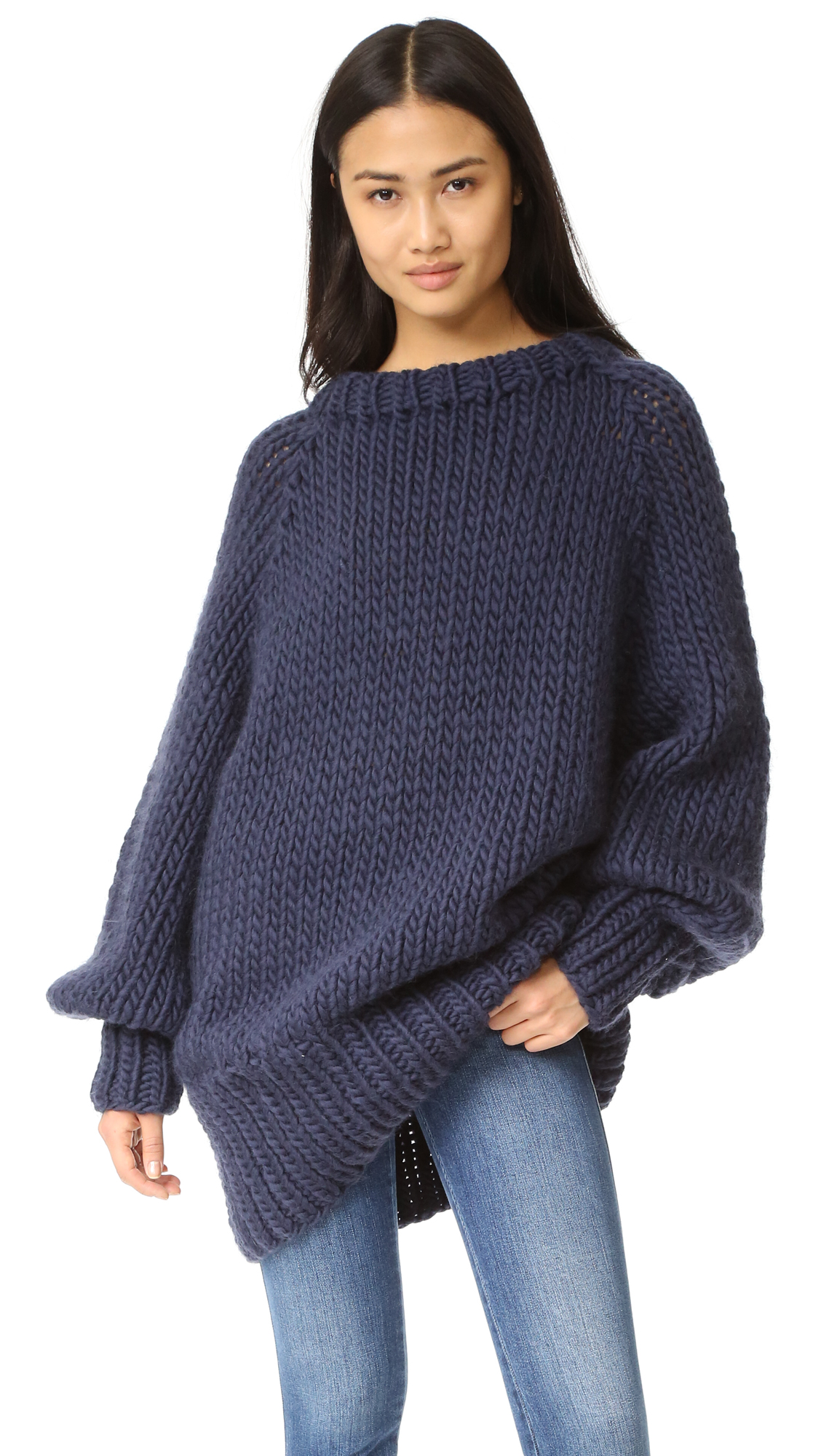I Love Mr Mittens Oversized Long Ribbed Sweater | SHOPBOP