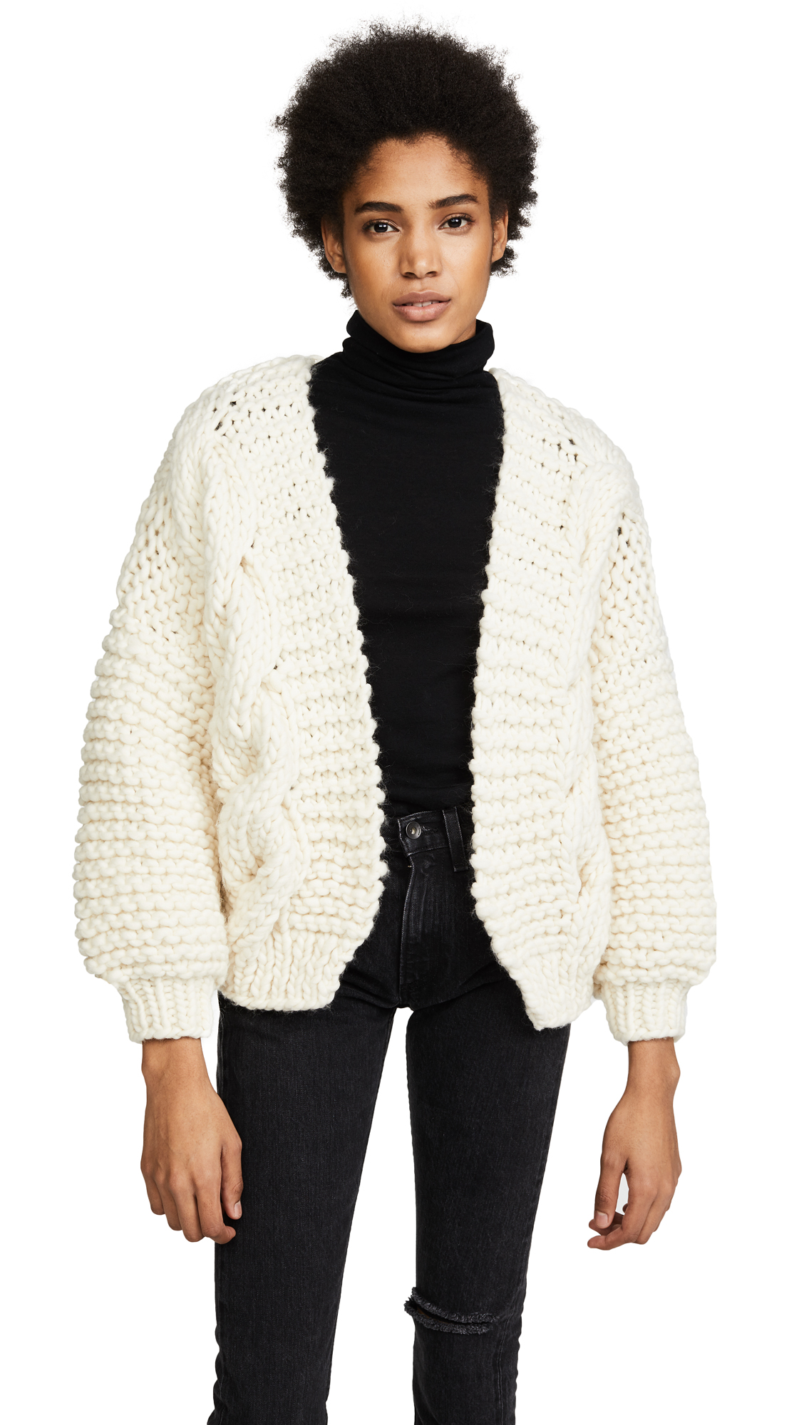 I Love Mr Mittens Diamond Cardigan In Cream