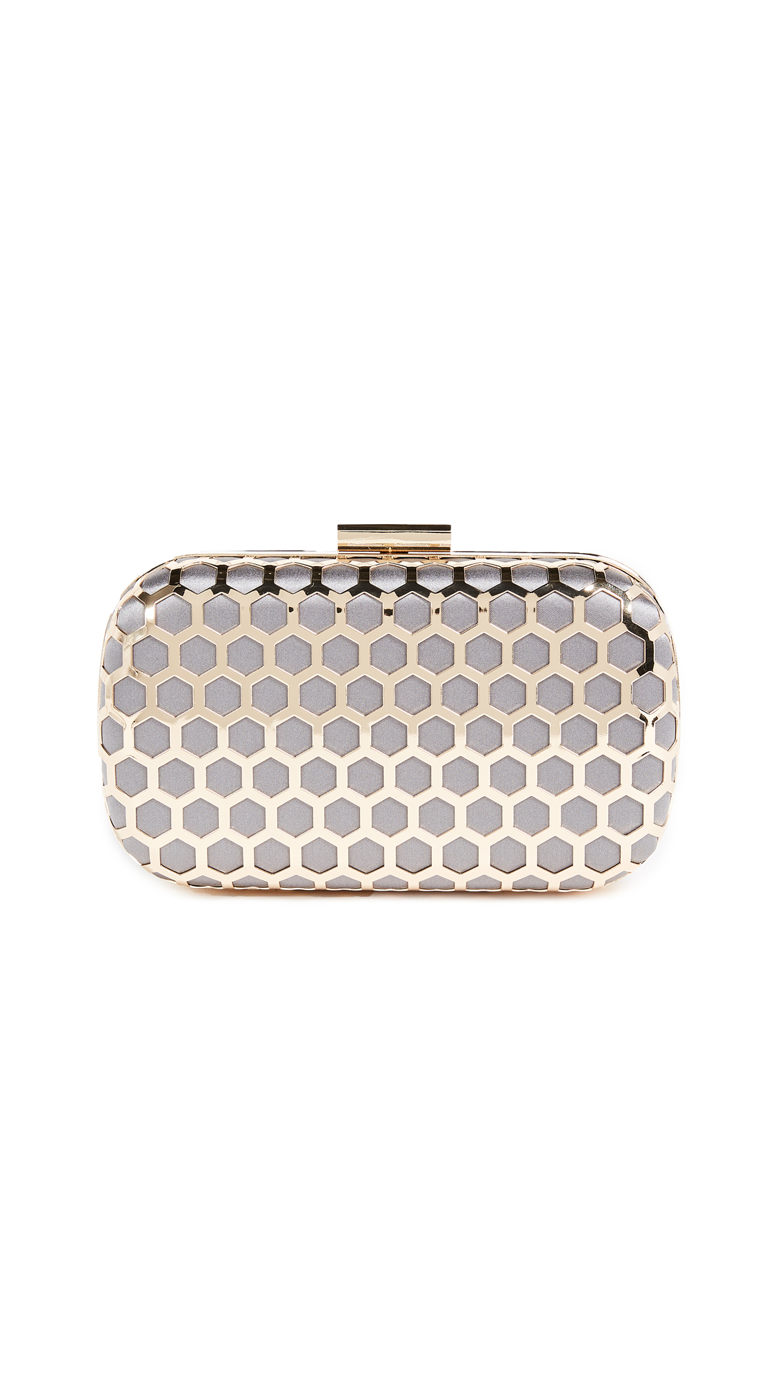 Inge Christopher Palermo Clutch - Grey