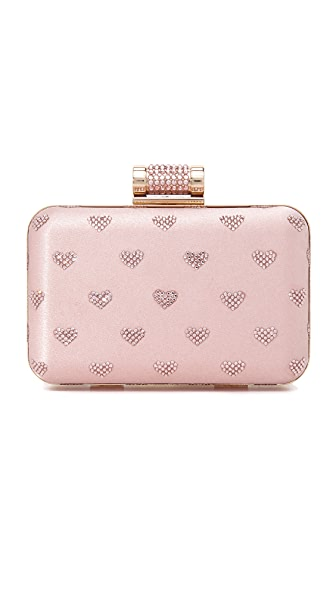Inge Christopher Hearts Clutch
