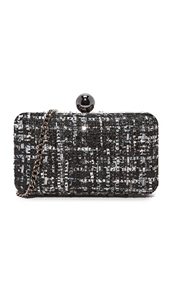 Inge Christopher Adeline Clutch - Pewter
