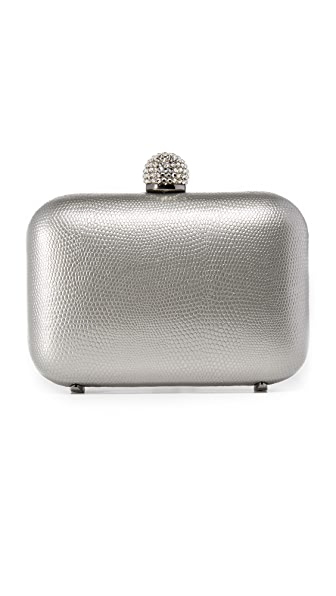 INGE CHRISTOPHER FIONA LEATHER CLUTCH