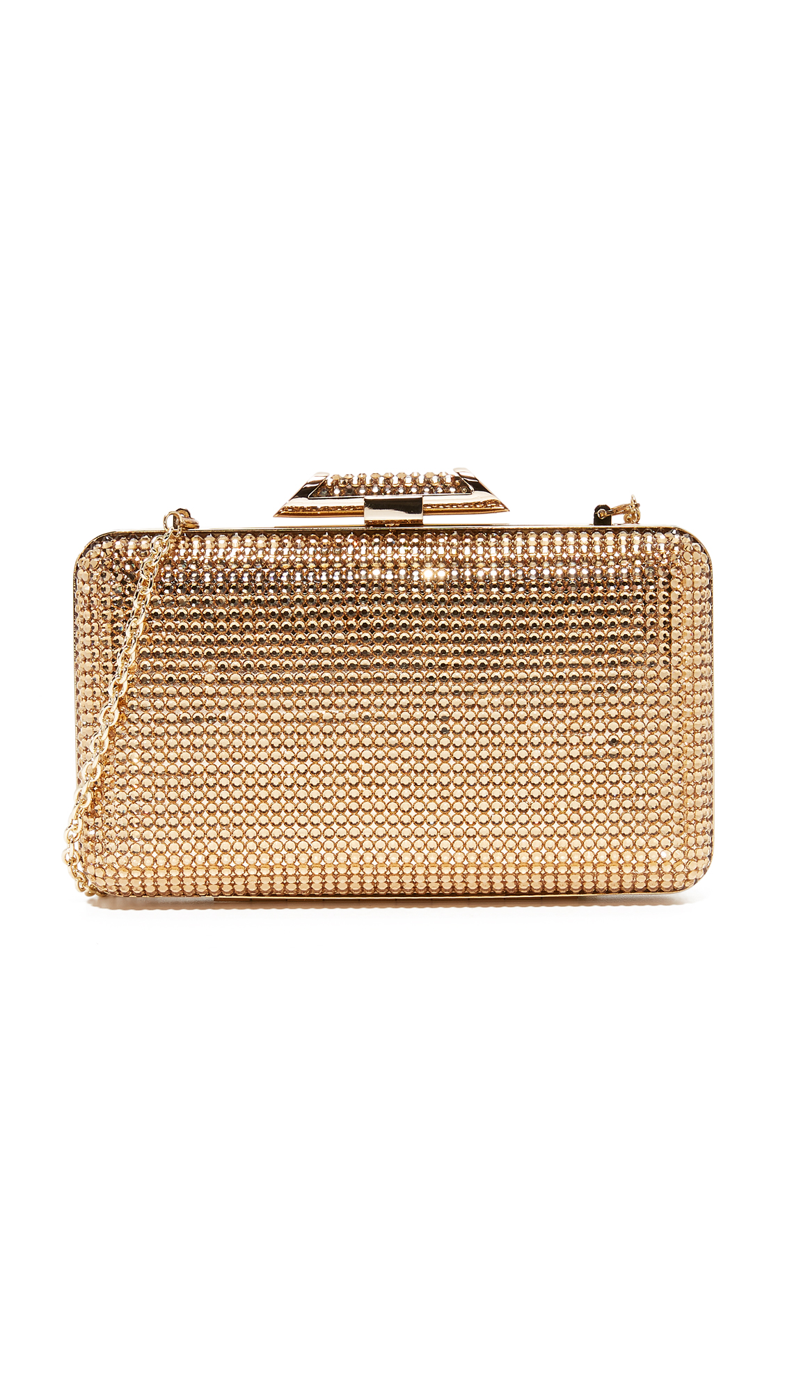 Inge Christopher Jacqueline Crystal Clutch - Gold