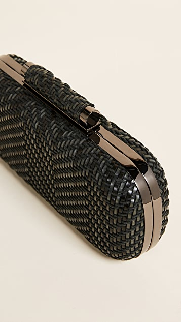 Inge Christopher Catalina Woven Clutch