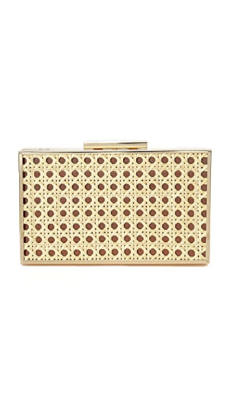 Inge Christopher Cora Clutch In Natural/Brown