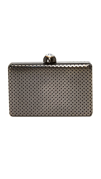 Inge Christopher Bianca Clutch - Gunmetal