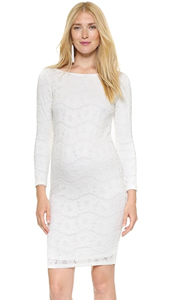 Ingrid & Isabel Boat Neck Lace Dress