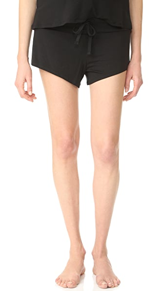 Ingrid & Isabel Maternity Lounge Shorts - Black