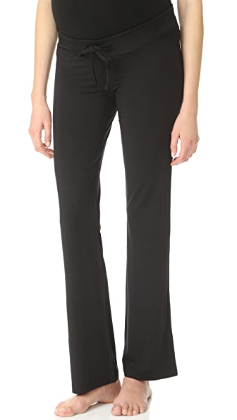 Ingrid & Isabel Maternity Lounge Pants - Black