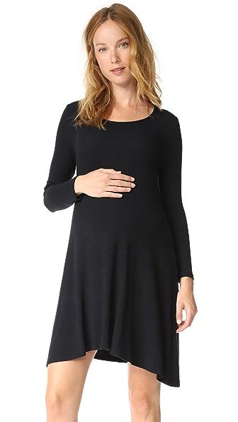 TRAPEZE SWEATSHIRT DRESS