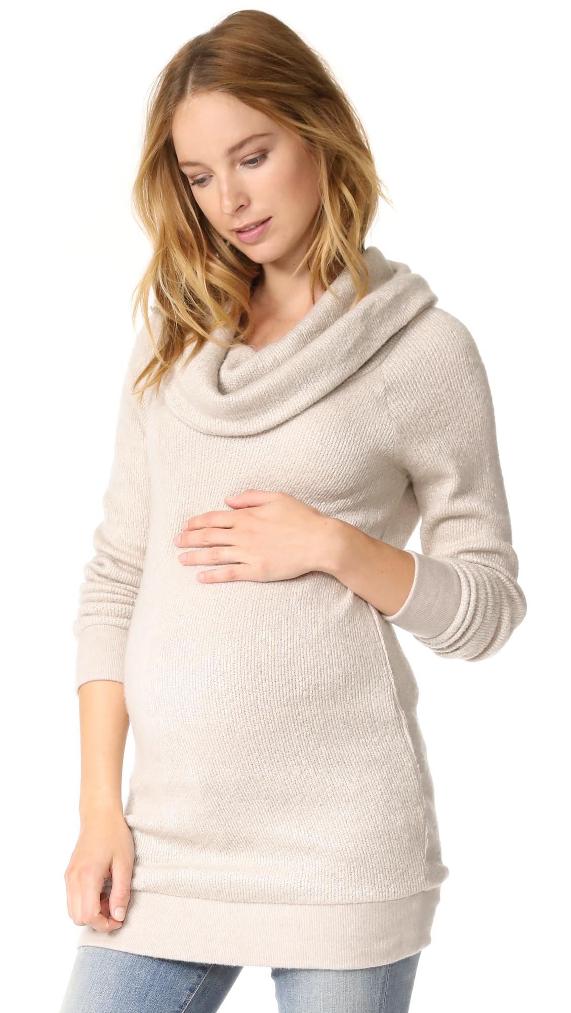684d3012b439 Ingrid & Isabel Cowl Neck Maternity Sweater | SHOPBOP