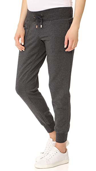 Ingrid & Isabel Active Jogger Maternity Leggings - Charcoal Heather