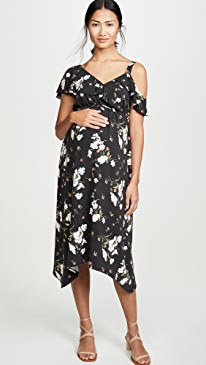 c1ea341b42bd4 Ingrid & Isabel. Asymmetric Ruffle Dress