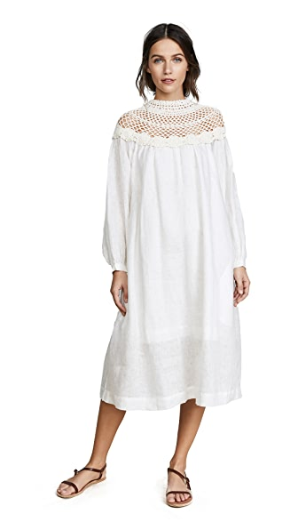 Innika Choo Crochet Collar Dress