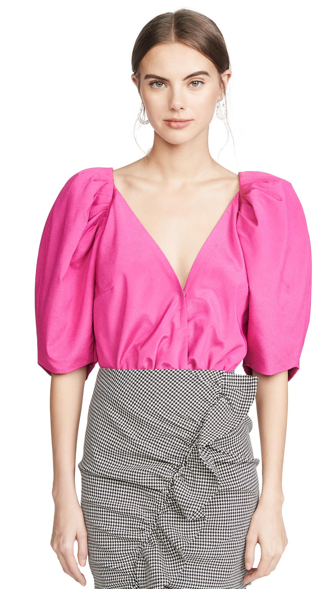 Buy IORANE online - photo of IORANE Puff Sleeve Bodysuit