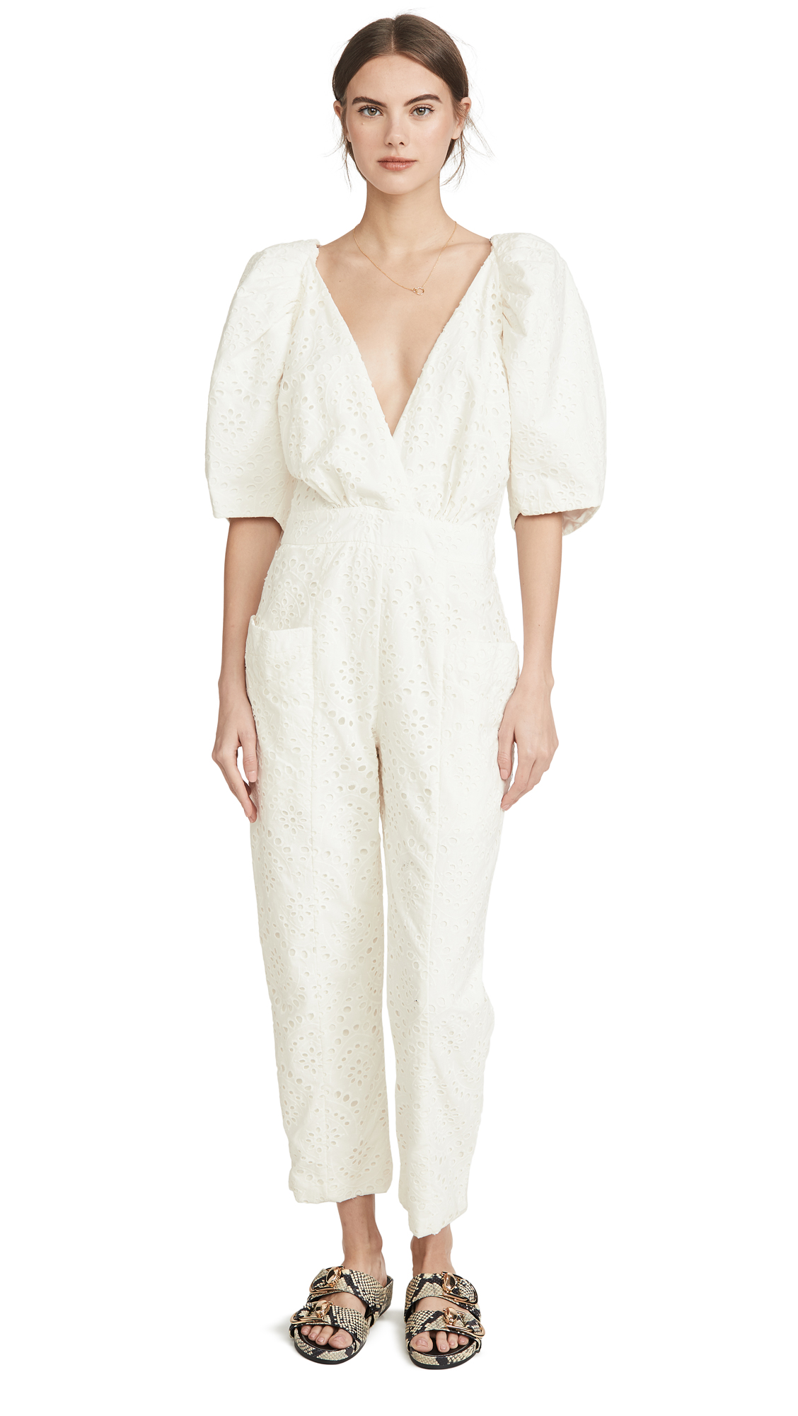 Buy IORANE online - photo of IORANE Laise Puff Jumpsuit