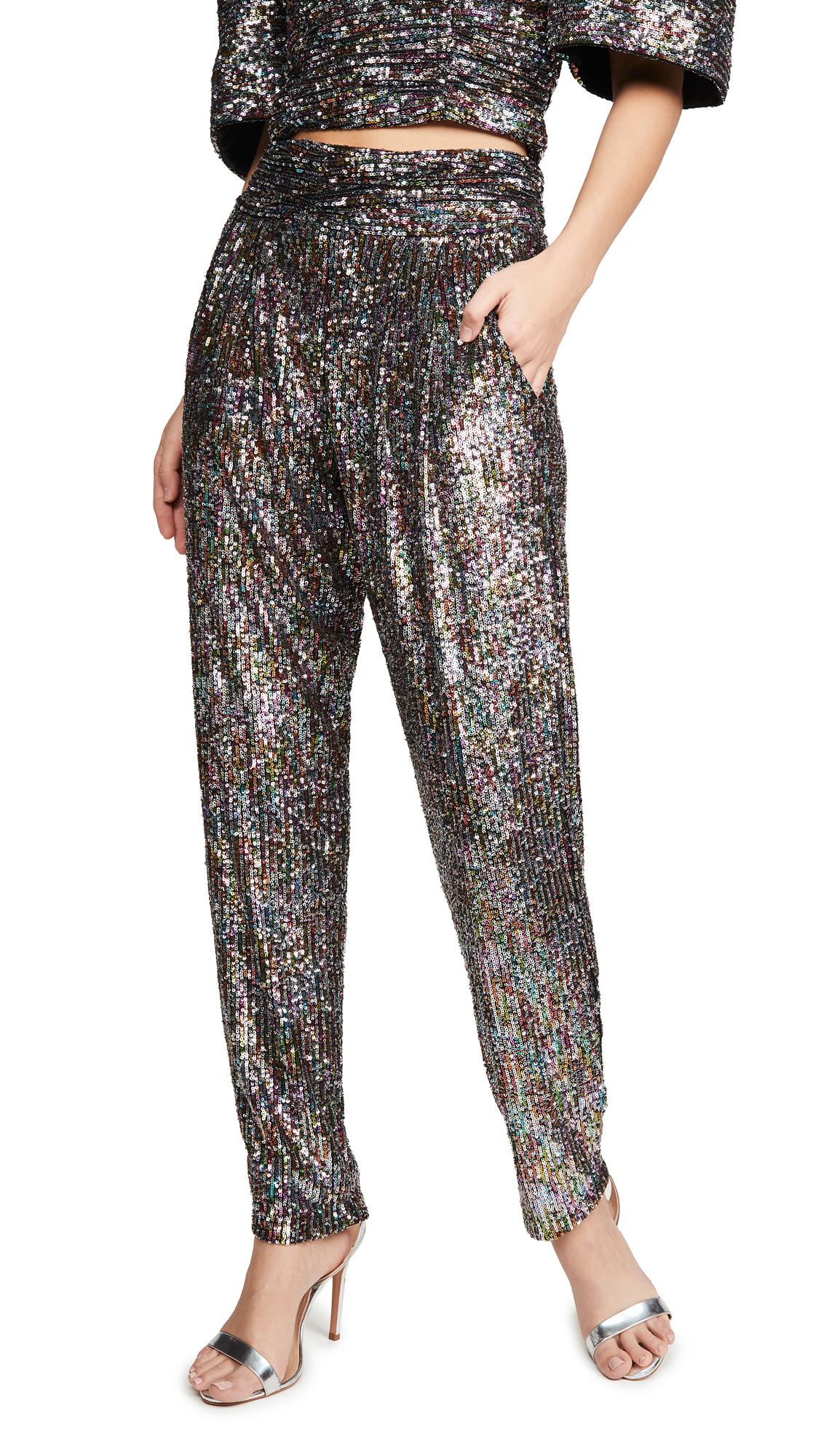 Buy IORANE online - photo of IORANE Confeti Sequin Trousers