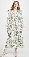 IORANE Vintage Garden Midi Dress