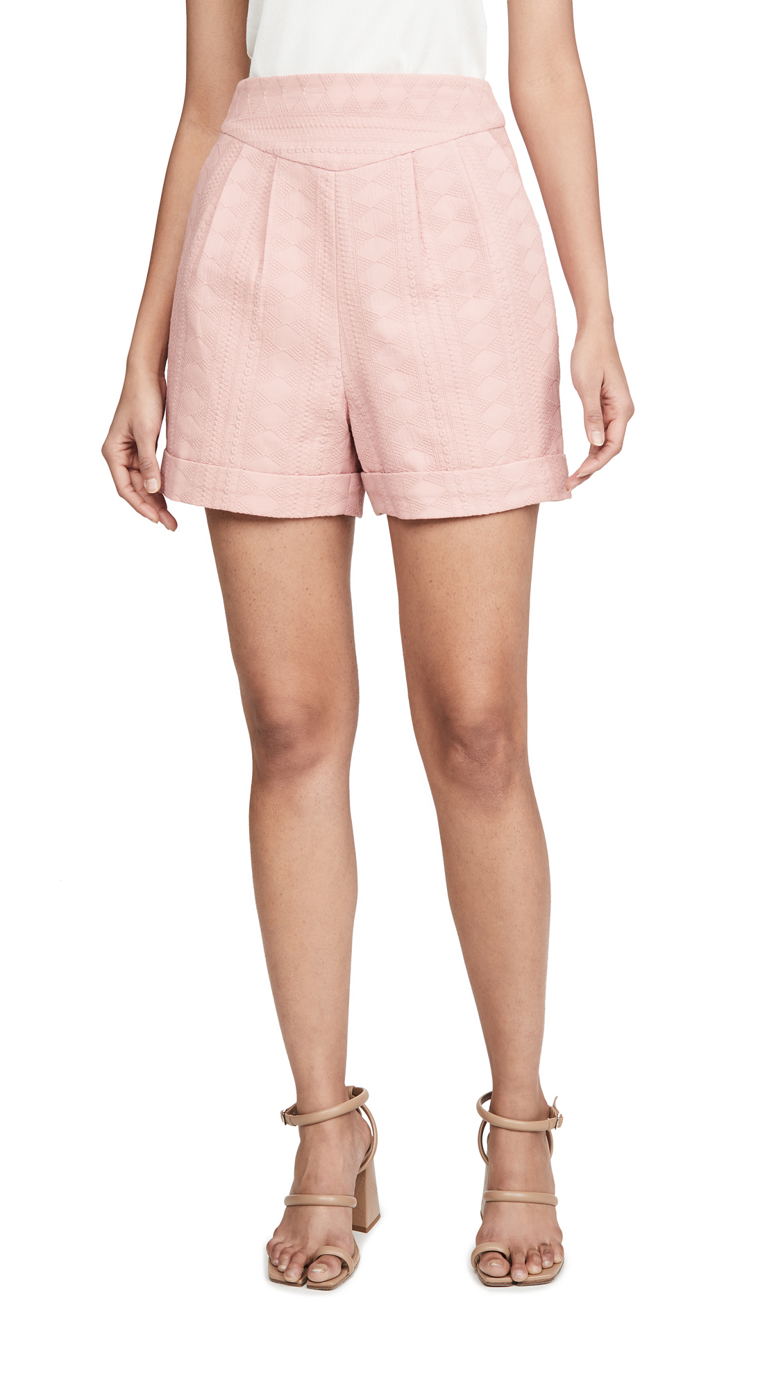Buy IORANE online - photo of IORANE Eyelet Shorts