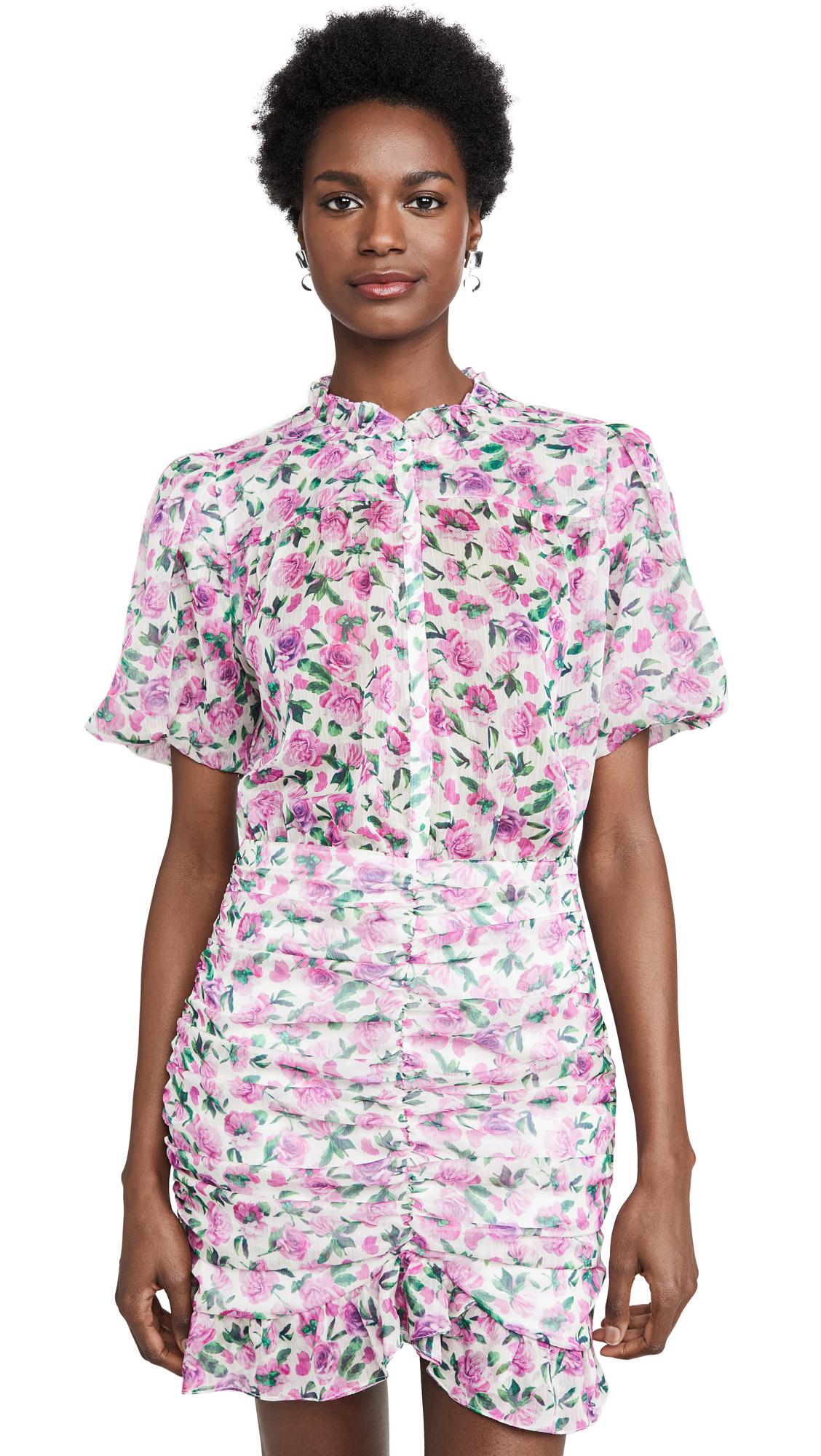 IORANE Floral Mini Dress - 50% Off Sale