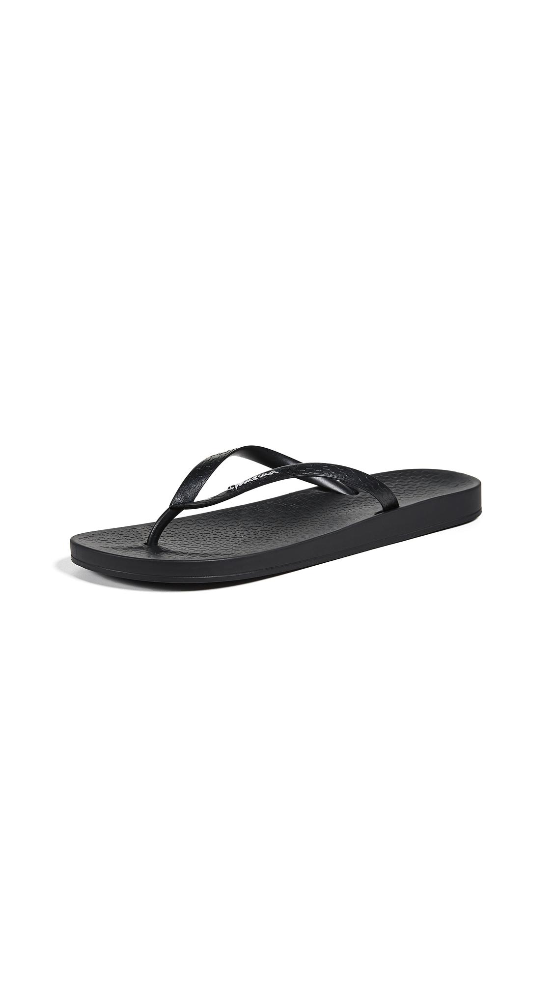 Ipanema Ana Flip Flops - Black
