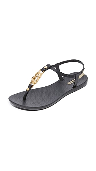 Ipanema Premium Infinity Sandals - Black